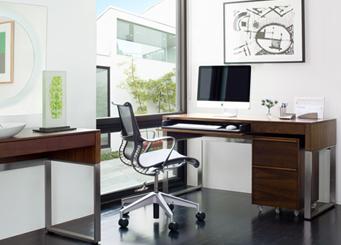 Cascadia office desk by BDI