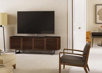 Corridor TV console by BDI