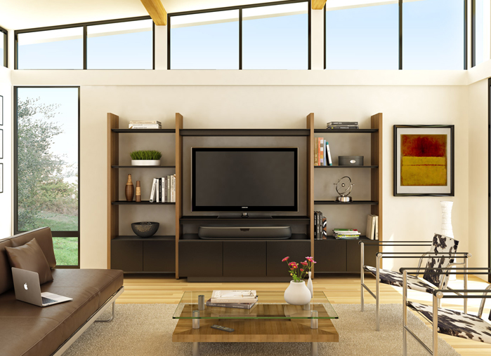 Semblance home theater system by BDI