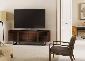 Corridor TV console by BDI